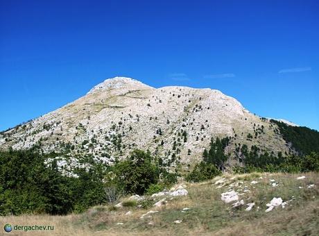 Черногория. Каменное море