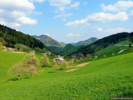 По высоким дорогам Словении