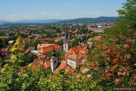Недельное путешествие по Словении, Австрии, Хорватии, Италии. Любляна