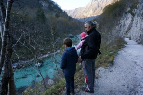 Один день с мужем, детьми и полетом на параплане в Словении