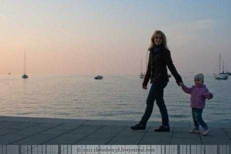 Один солнечный день из жизни в Словении
