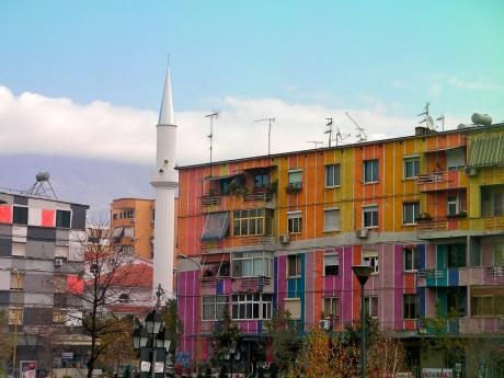 Непонятный город Тирана