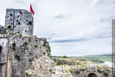 Шкодер и крепость Розафа