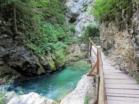 Навеки влюблена в Словению