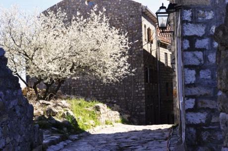 Старый город в Ульцине (Черногория)