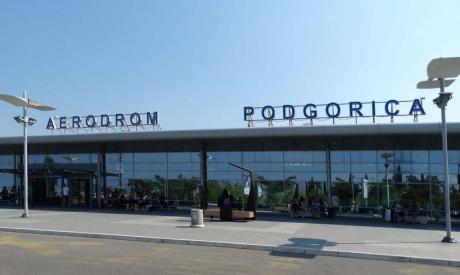 Аэропорт Подгорица.
