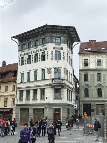 Маленькая столица маленькой страны. Любляна.