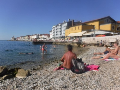 Словения в сентябре - жаркая и холодная, дождливая и солнечная. День 7