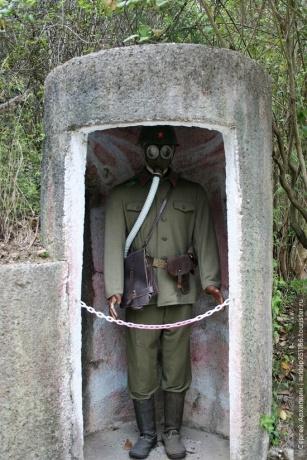 По албанским бункерам в Тиране