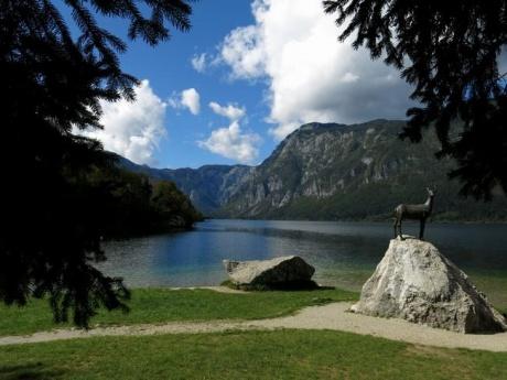 В глубинке Словении - озеро Бохинь, Блед, городок Шкофья Лока
