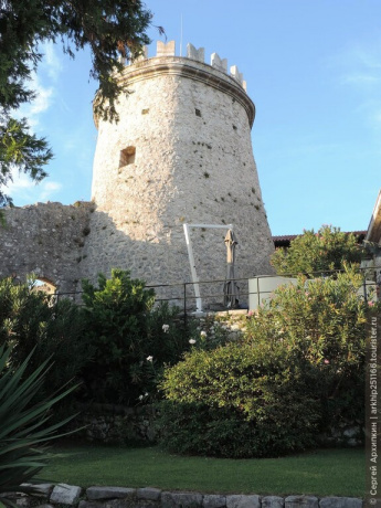 Крепость Трсат на горе над Риекой